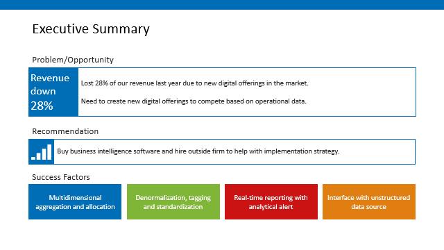 Engage slide demonstrating some of the design assets on the slide.
